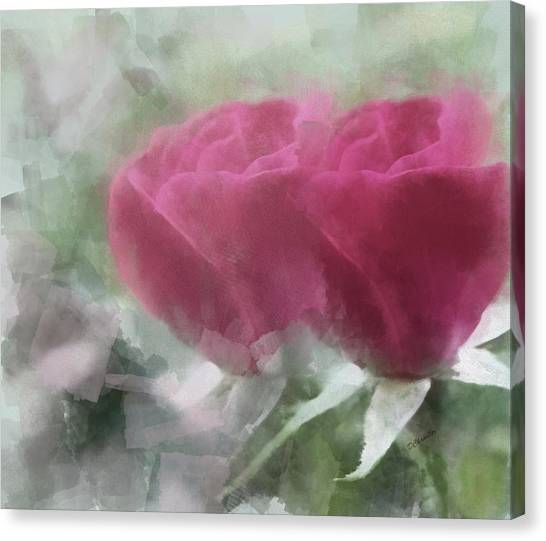 Valentine's Roses Canvas Print
