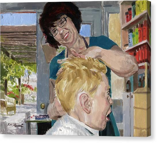 Valerie Stewart's Salon Canvas Print