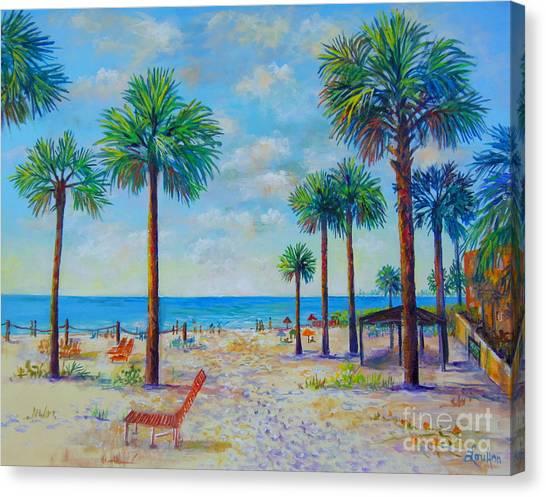 Valerie's View Of Siesta Key Canvas Print