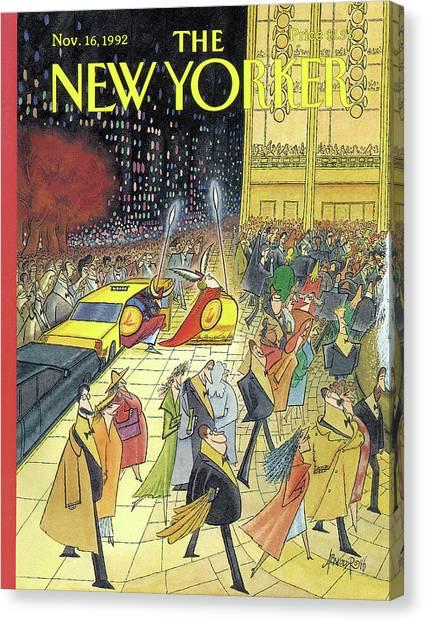 New Yorker November 16th, 1992 Canvas Print