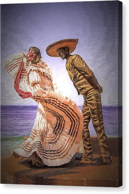 Vallarta Dancers Canvas Print