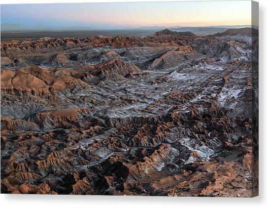 Atacama Desert Canvas Print - Valle De La Luna by Babak Tafreshi