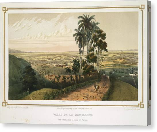 Principals Canvas Print - Valle De La Magdalena by British Library