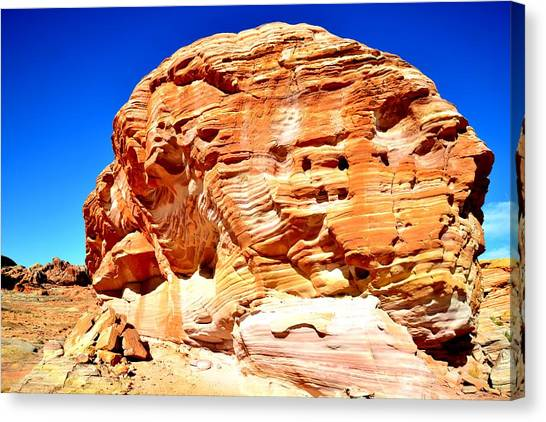 Valley Of Fire 67 Canvas Print