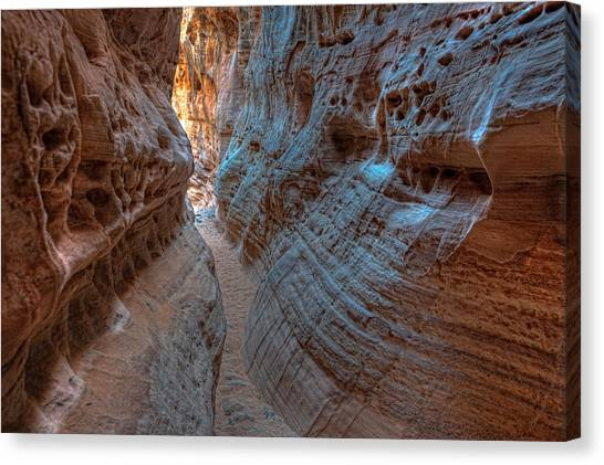 Valley Of Fire Slot Canyon Canvas Print