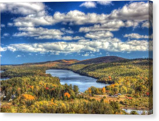 Valley Of The Clouds Canvas Print