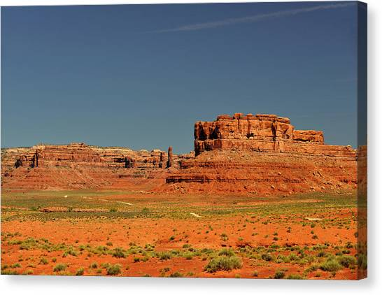 Surreal Landscape Canvas Print - Valley Of The Gods - See What The Gods See by Christine Till