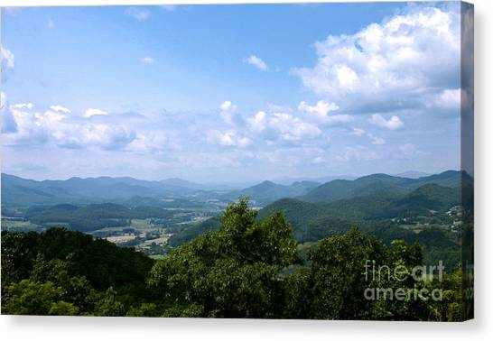 Valley View Canvas Print