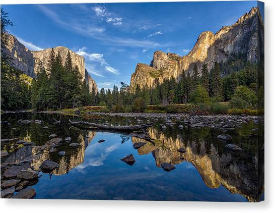 El Capitan Canvas Print - Valley View I by Peter Tellone