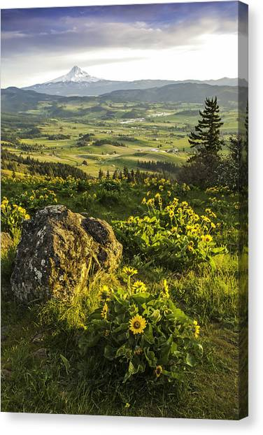 Valley Vista Canvas Print