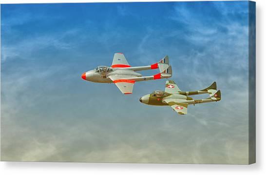 Vampire Jets Canvas Print by Johan Combrink