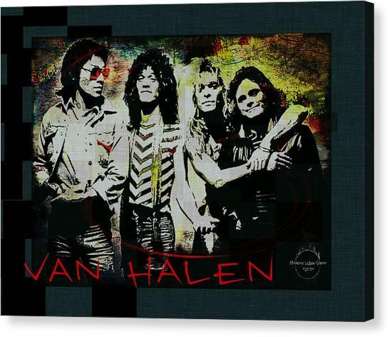 Van Halen - Ain't Talkin' 'bout Love Canvas Print