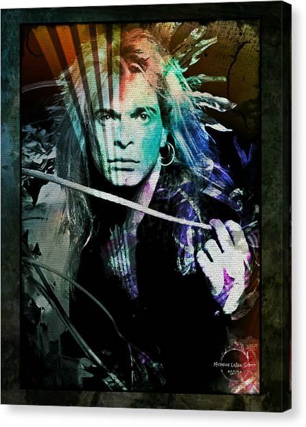 Van Halen - David Lee Roth Canvas Print
