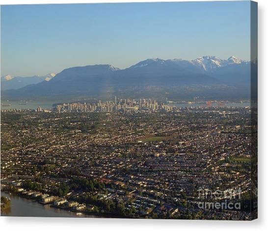 Vancouver At A Glance Canvas Print