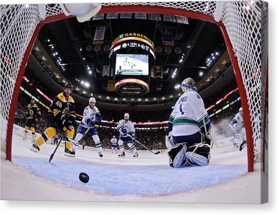 Vancouver Canucks V Boston Bruins - Game Six Canvas Print by Elsa
