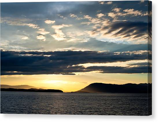 Vancouver Island Sunset Canvas Print
