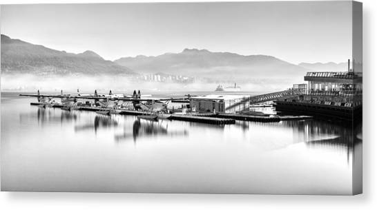 Cessnas Canvas Print - Vancouver Mist by Alexis Birkill