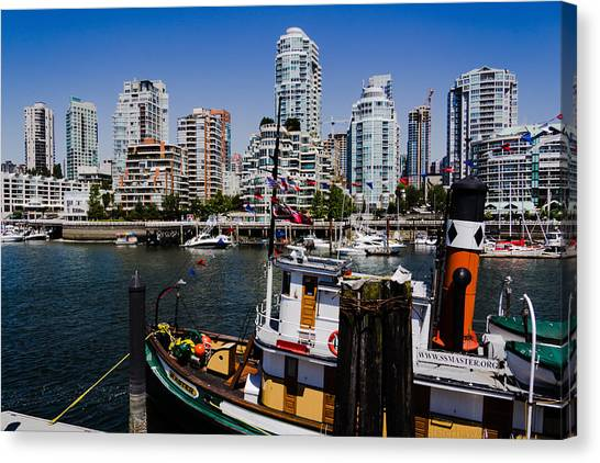 Vancouver Views Canvas Print