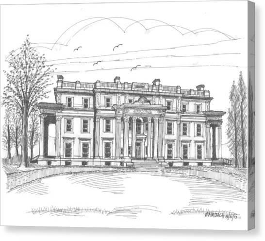 Vanderbilt Mansion Canvas Print