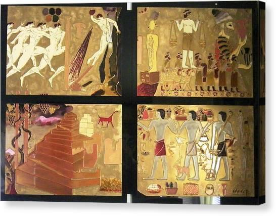 Vanished Civilization Canvas Print