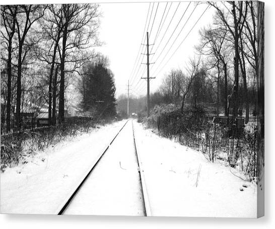 Vanishing Point. Canvas Print