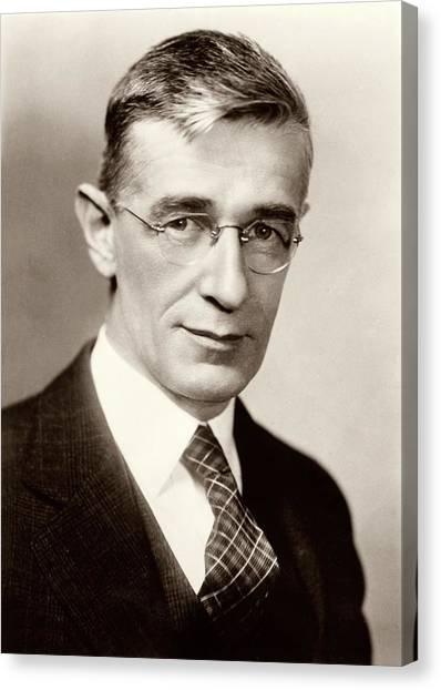 Washington Nationals Canvas Print - Vannevar Bush by American Philosophical Society