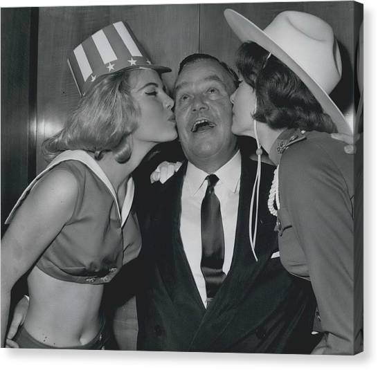 Variety Club Lunch Tribute To Billy Butlin Canvas Print by Retro Images Archive
