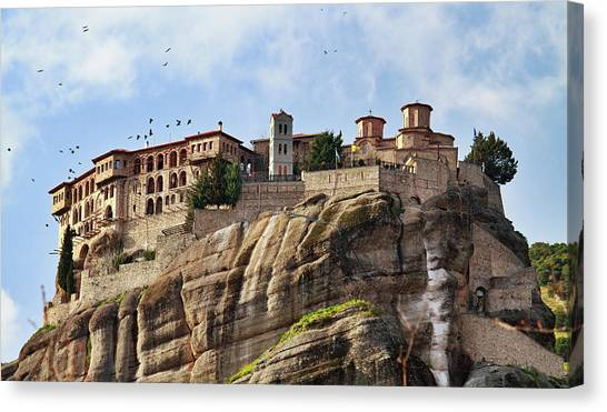 Varlaam Monastery, Meteora, Greece Canvas Print