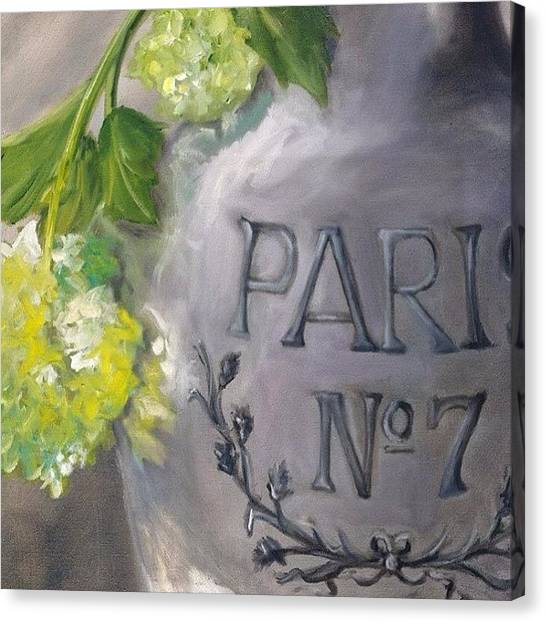 Art Deco Canvas Print - Vase-paris #artistmarnie #parisian #art by Marnie Bourque