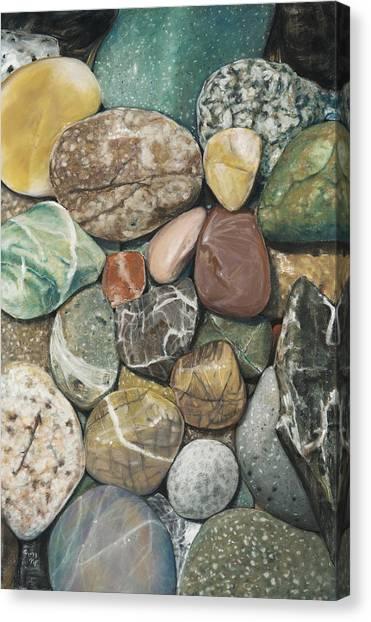 Vashon Island Beach Rocks Canvas Print