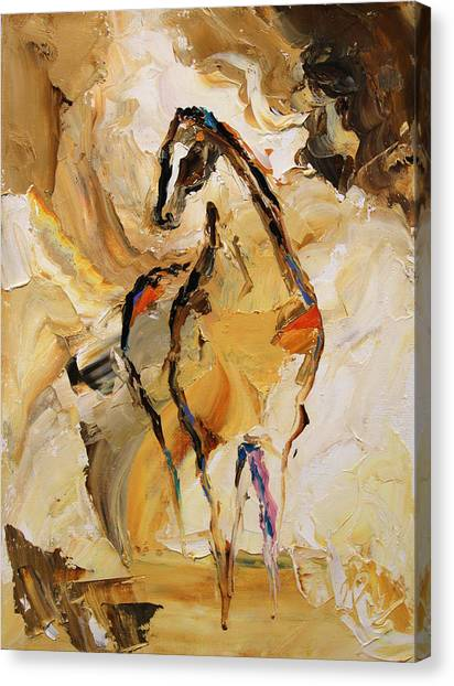 Canvas Print - Vast Horse 7 Of 100 2014 by Laurie Pace