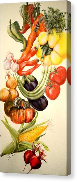 Vegetables No. 1 Canvas Print