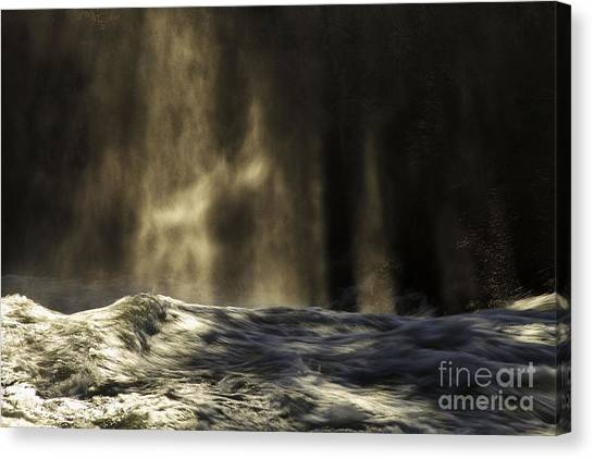 Veil Of Light And Mist Canvas Print