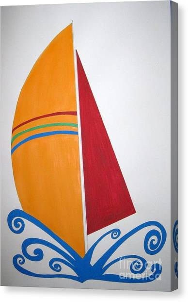Velas Canvas Print