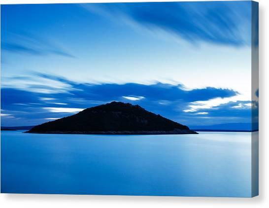 Veli Osir Island At Dawn Canvas Print