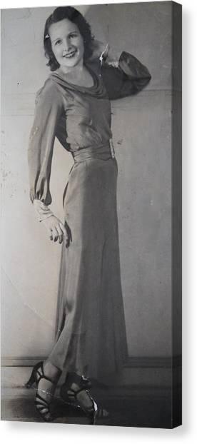 Velma Zerline Russell Canvas Print