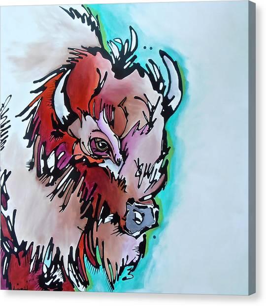 Velvet Stud Canvas Print