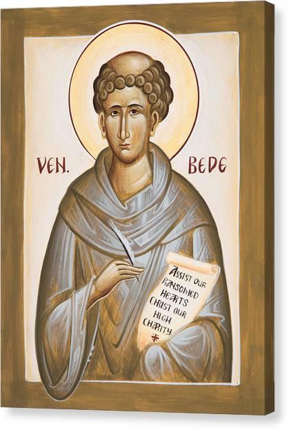 Canvas Print - Venerable Bede by Julia Bridget Hayes