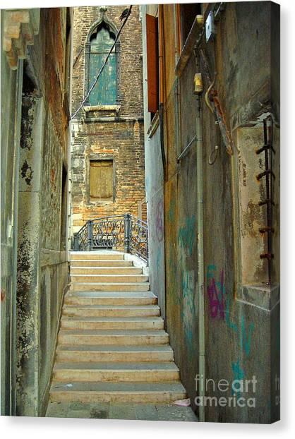 Venetian City Of Bridges Canvas Print
