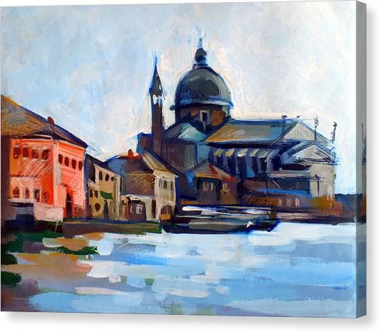 Venetian Shoreline Canvas Print by Filip Mihail