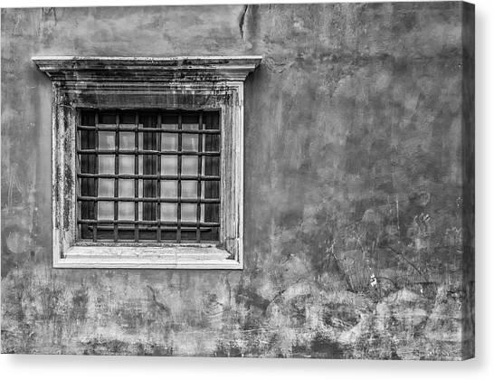 Venetian Window Canvas Print