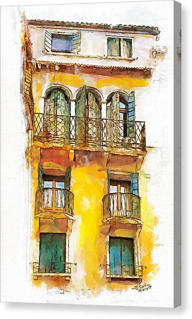 Radiant Abode Canvas Print