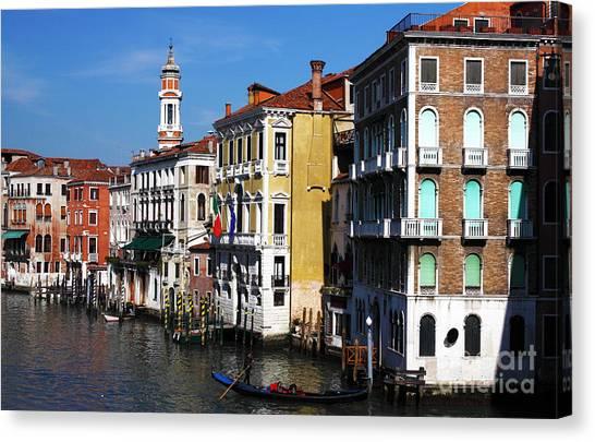 Venezia Colors Canvas Print by John Rizzuto