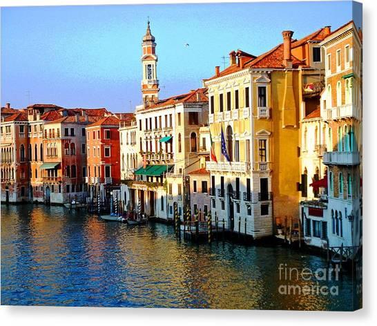 Venezia Grand Canal Canvas Print