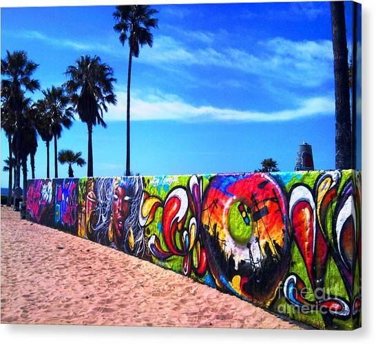 Venice Beach Flavor Canvas Print