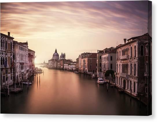 Town Canvas Print - Venice by Dan Muntean