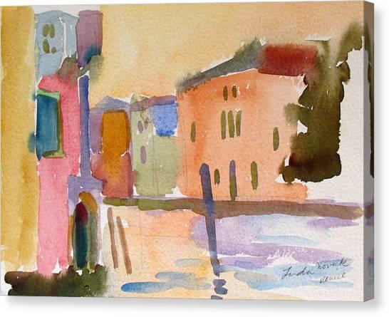 Venice Dawn Canvas Print