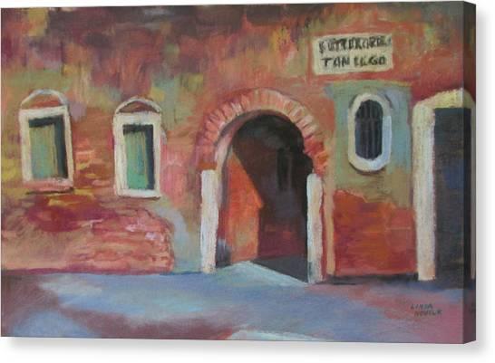 Venice Doorway Canvas Print