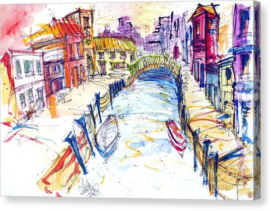 Venice Canvas Print by Edgar Rafael