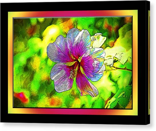 Venice Flower - Framed Canvas Print